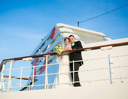 Heiraten auf dem Schiff
